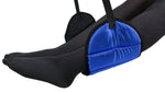 Sleepy Ride - Airplane Footrest Made with Premium Memory Foam - Airplane Travel Accessories - Blue