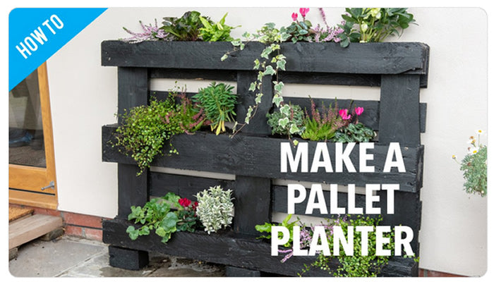 Making a Pallet Planter With SILVERLINE Tools