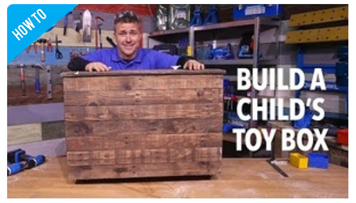 Making a Toy Chest With SILVERLINE Tools
