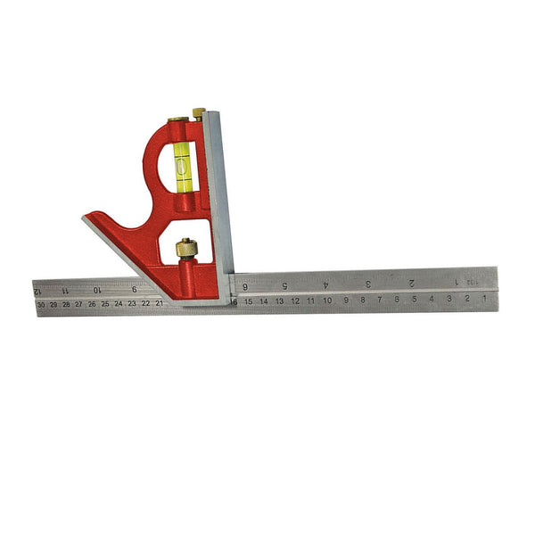 Adjustable Carpenters Combination Set Square 16 Inch 400mm Faithfull FAICS400