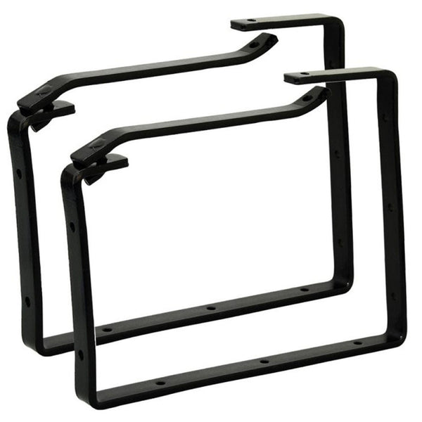 Ladder Storage Hooks 2pc Brackets Heavy Duty Lockable 20KG Rolson 60910