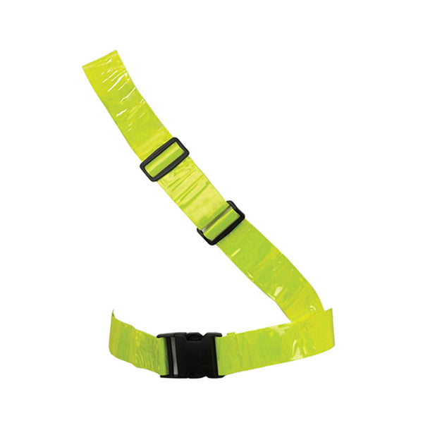 Hi Viz Vest Sash High Vis Safety Visibility Reflective Belt Silverline 705048