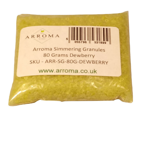 Simmering Granules For Oil Burners Arroma 80 Grams