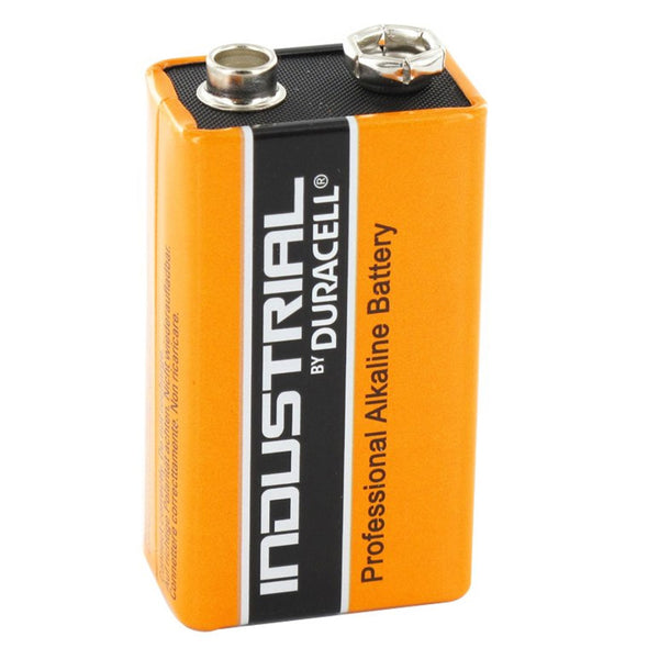 Duracell 9V Industrial Batteries Alkaline LR22 MN1604 Procell Battery 1 Pack