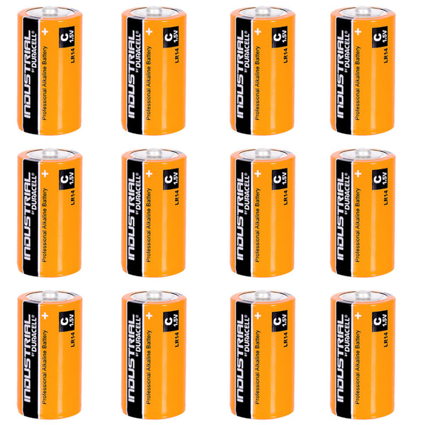 Duracell C Industrial Batteries Alkaline LR14 MN2400 Procell Battery 12 Pack