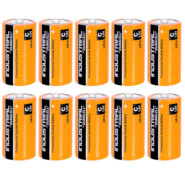 Duracell C Industrial Batteries Alkaline LR14 MN2400 Procell Battery 10 Pack