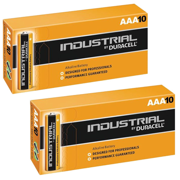 Duracell AAA Industrial Batteries Alkaline LR03 MN2400 Procell Battery 20 Pack