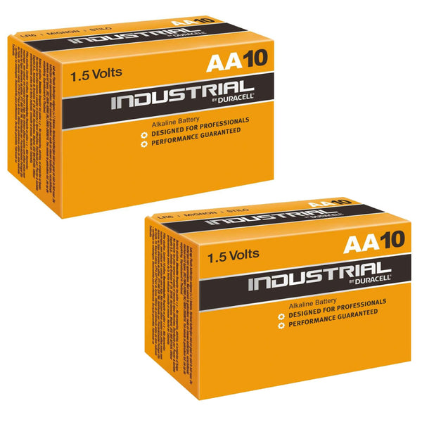 Duracell AA Industrial Batteries Alkaline LR6 MN1500 Procell Battery 20 Pack