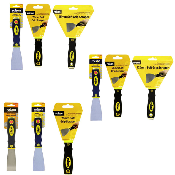 3 Pack Paint Scraper Rolson Wallpaper Stripper  Rolson