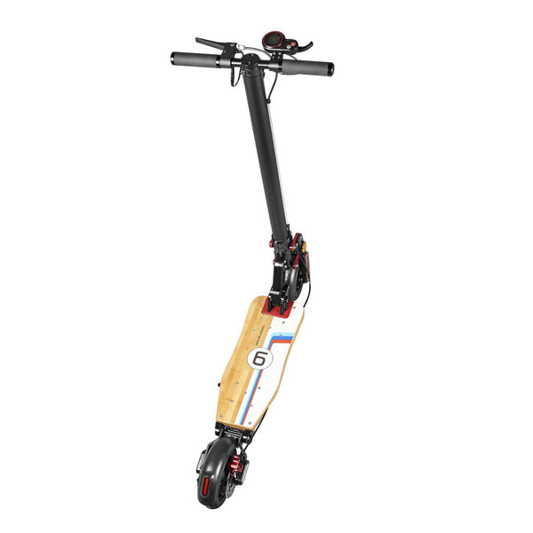 S6 Electric Scooter with Hybrid Suspension - Black