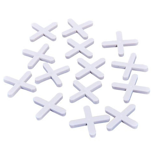 Tile Spacers 3mm Gap Floor Wall Tiling Grouting Cross 400 Pack Amtech S4460