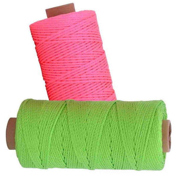Rolson Measuring 152m Strong Brick Laying Rope Line String Building Chalk 52607