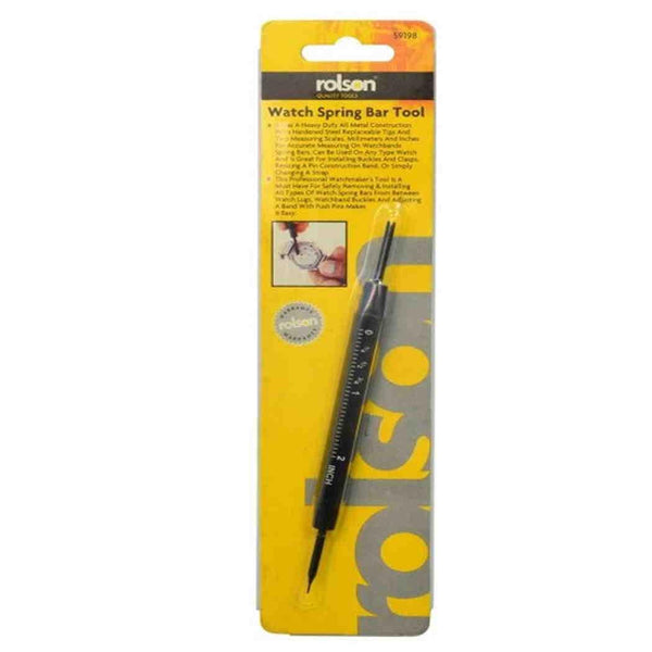 Rolson Watch strap pin remover spring bar tool R59198
