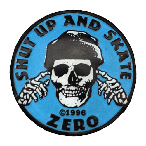 SHUT UP & SKATE ENAMEL PIN