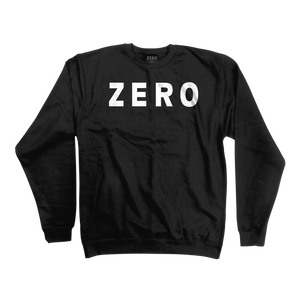 Zero Army black crewneck
