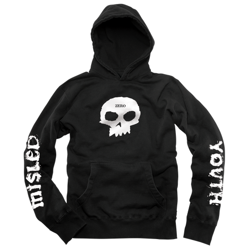 MISLED YOUTH SINGLE SKULL HOODY