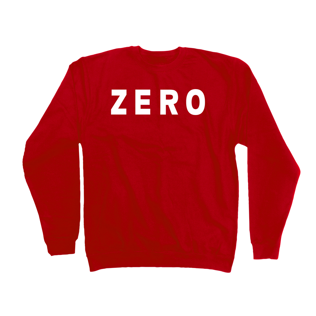 ARMY CREW NECK - RED/WHITE