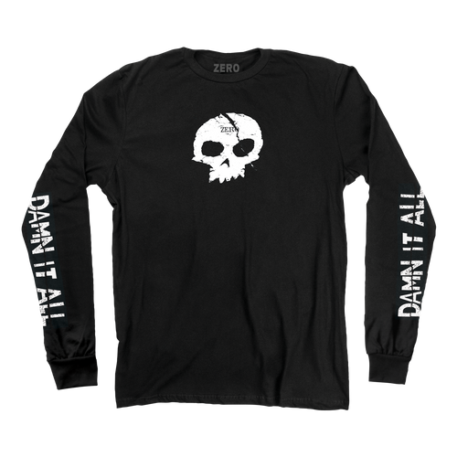 DAMN IT ALL SKULL Longsleeve