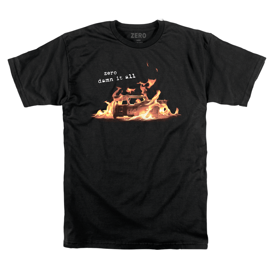 DAMN IT ALL BURNING VX T-SHIRT
