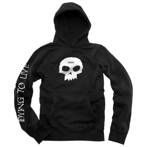 DYING TO LIVE SINGLE SKULL PULLOVER