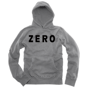 Zero Army gray and black fleece pullover