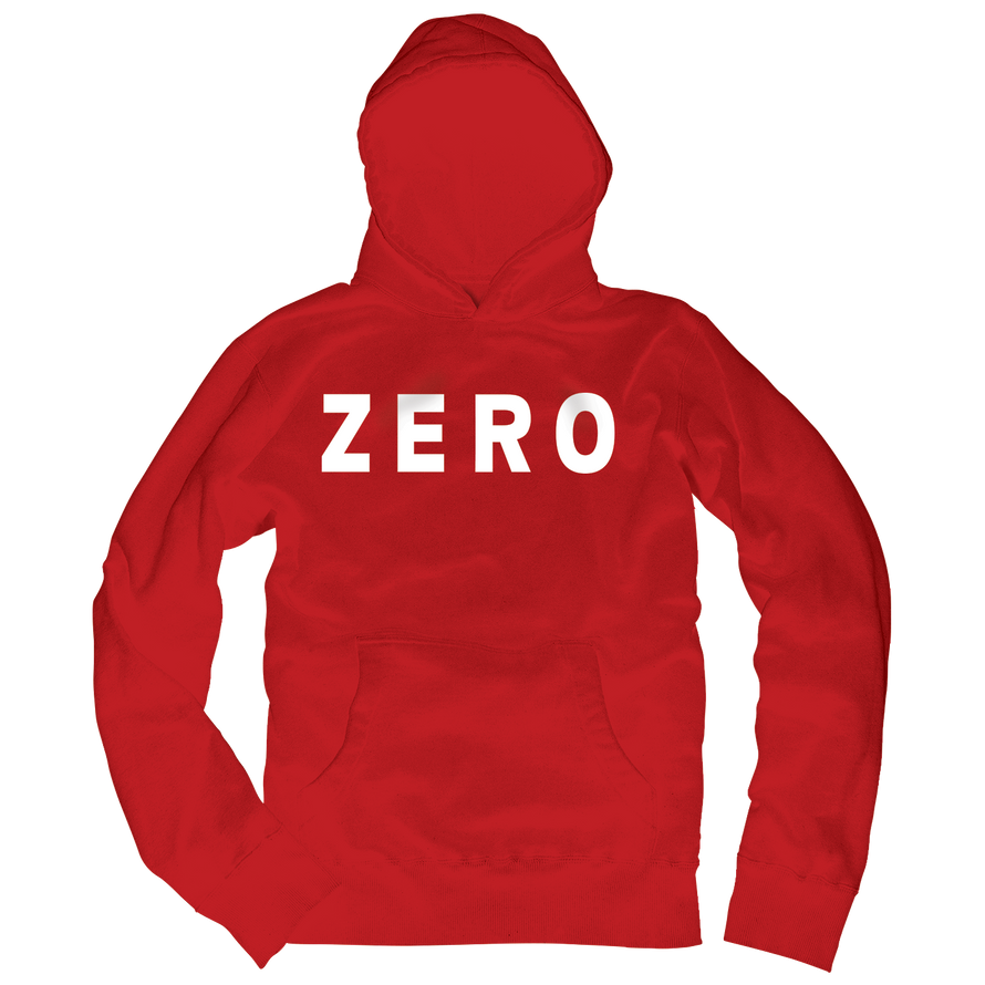 Zero Army red fleece pullover