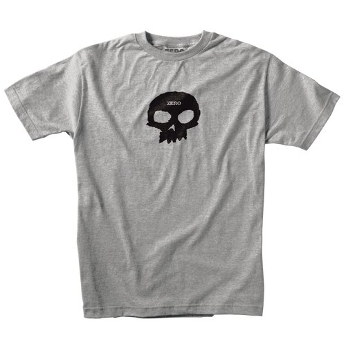 SINGLE SKULL S/S – HEATHER