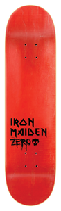 Zero x Iron Maiden deck top