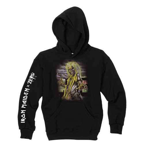 Zero x Iron Maiden black pullover