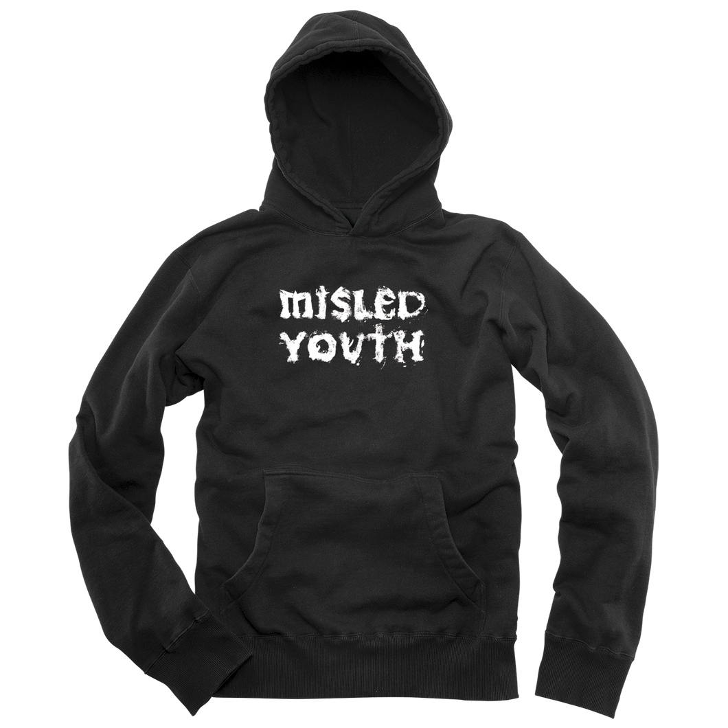 MISLED YOUTH PULLOVER - BLACK