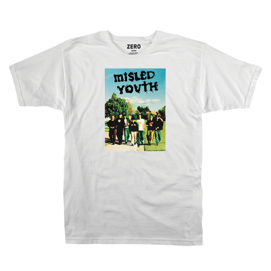MISLED YOUTH COVER S/S - WHITE