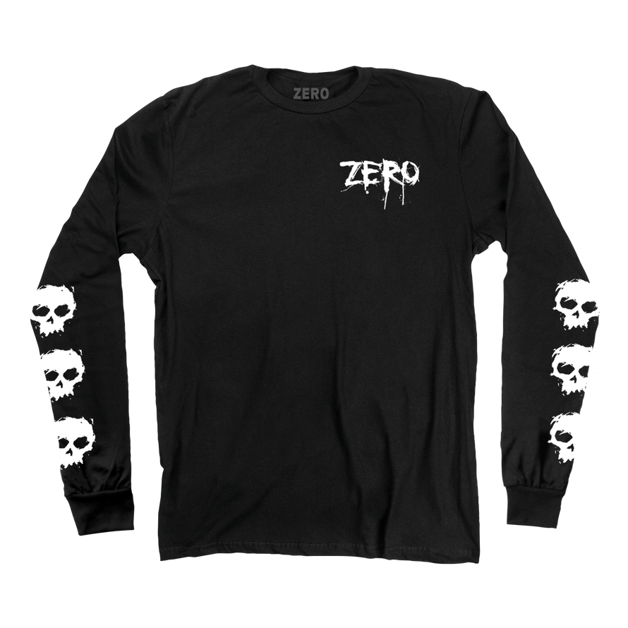 MULTI BLOOD SKULL L/S
