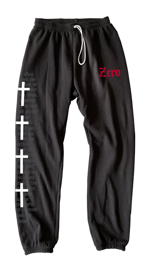 ZERO SWEAT PANTS - THOMAS CROSS (PRE-ORDER)