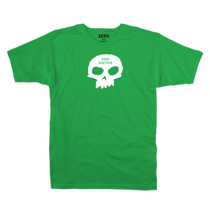 End Racism Skull S/S - Green