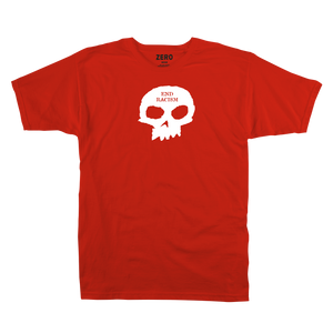 End Racism Skull S/S - Red