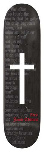 THOMAS - OG CROSS BLACK STAIN
