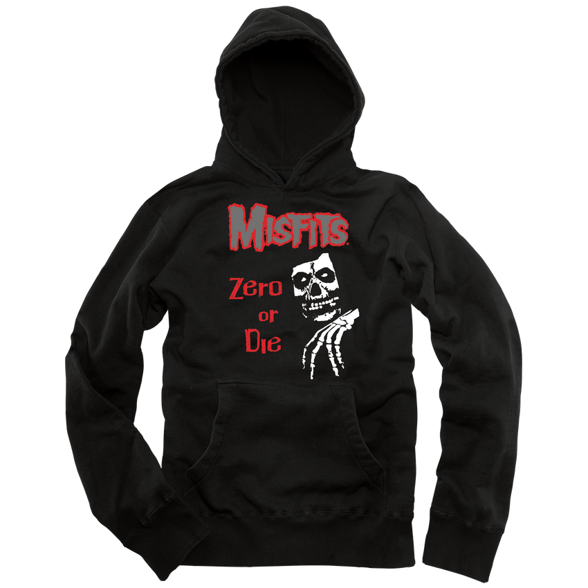 MISFITS LEGACY PULLOVER - BLACK [SMALL ONLY]
