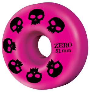 Multi-Skull Wheel - Pink 51mm