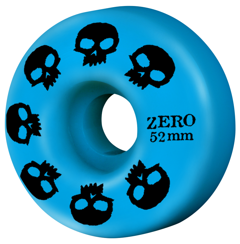 Multi-Skull Wheel - Cyan 52mm