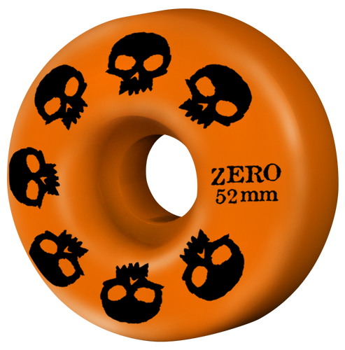Multi-Skull Wheel - Orange 52mm