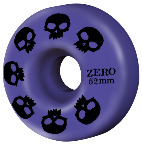 Multi-Skull Wheel - Purple 52mm