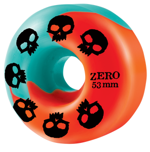 Multi-Skull Wheel - Malibu/Blood Orange Swirl 53mm