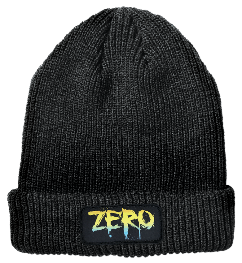 BLOOD RAINBOW PATCH BEANIE