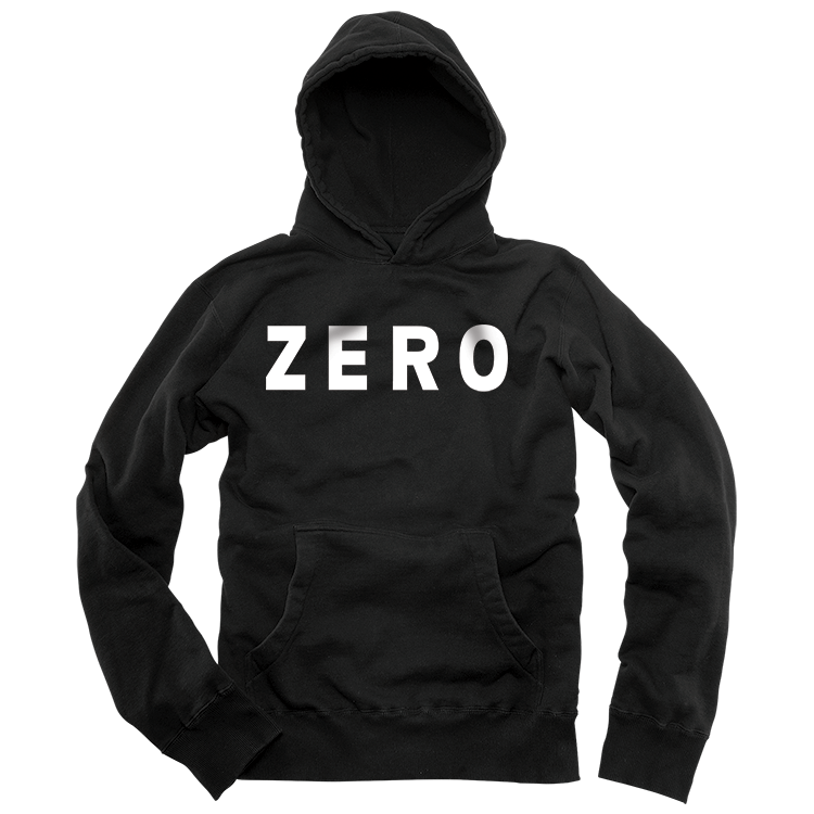 Zero Army black fleece pullover