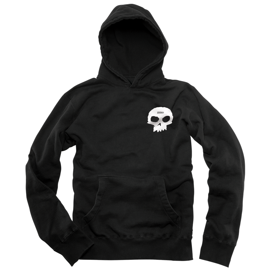SMALL SKULL PULLOVER - BLACK [LARGE ONLY]