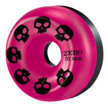 Zero pink black split wheel