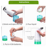 TOUCHLESS SOAP DISPENSER