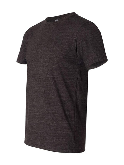 Unisex Triblend Short Sleeve Tee Charcoal-Black Triblend L