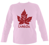 Canada Maple Leaf Men's Long Sleeve T-Shirt