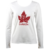 Maple leaf Women's Long Sleeve T-Shirt